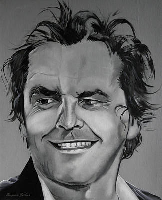 Jack Nicholson Painting - Young Jack by Ben Jackson