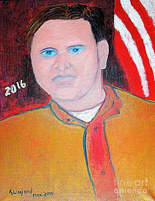 Joe Biden Painting - Jeb Bush 1 by Richard W Linford
