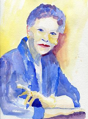 Young Lady Print by Joe Hagarty