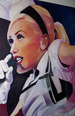Gwen Stefani Painting - Yummy by Brigitte ODowd