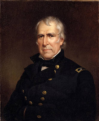 Painting - Zachary Taylor by James Reid Lambdin