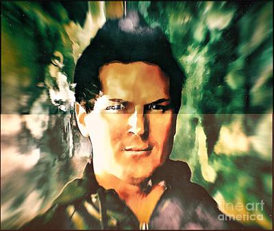 Aftershock Digital Art - Zak Bagans - Deep Soul by Robert Radmore