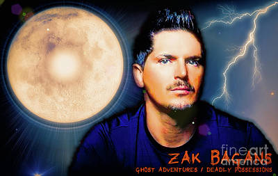 Aftershock Digital Art - Zak Bagans - The Man by Robert Radmore