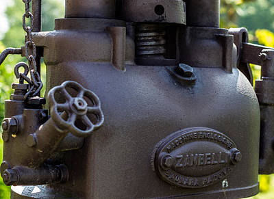 Winery Photograph - Zambelli Wine Making by Brian Manfra