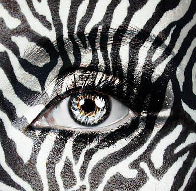 Zebra  Print by Yosi Cupano