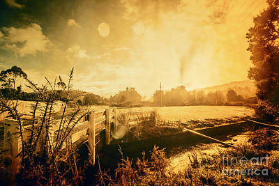 Old Country Roads Photograph - Zeehan Tasmania Outback Bridge by Jorgo Photography - Wall Art Gallery