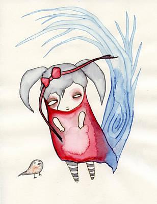 Girls Painting - Zeeroh Tew by Lindsey Cormier