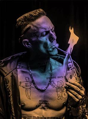 Burning Money Digital Art - Zef Cash Money by Jera Sky