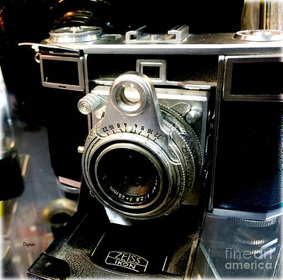 Ikon Photograph - Zeiss Ikon  by Steven Digman
