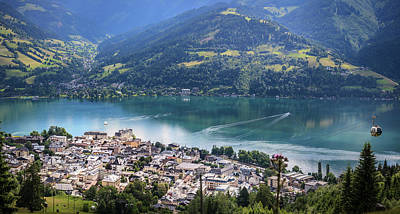 Photograph - Zell Am See Austria by Alex Saunders