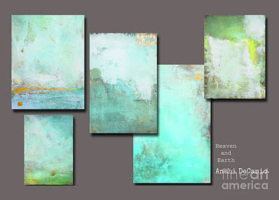 Painting - Zen Abstract Landscapes by Anahi DeCanio