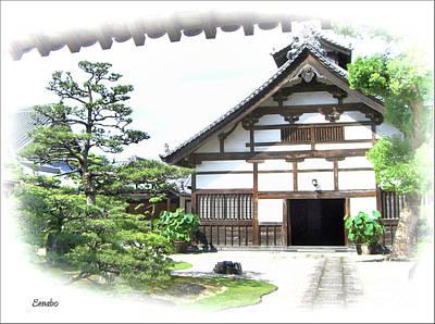 Historic Site Photograph - Zen Garden by Eena Bo