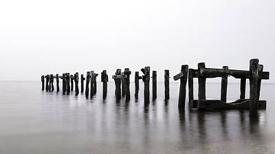 Zen Piers By Tom Schoeller - Open Edition Print Print by Thomas Schoeller