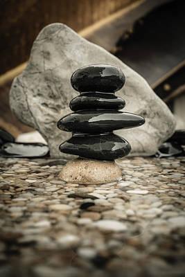 Zen Stones V Print by Marco Oliveira