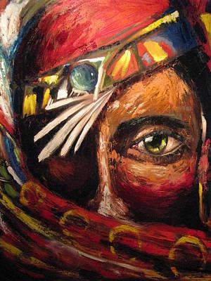Artist Process Painting - Zenobia by Ryan L  Jones