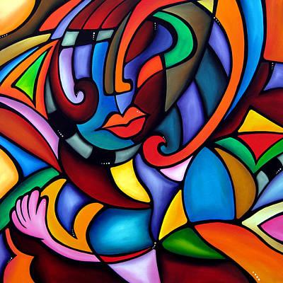 Fidostudio Painting - Zeus - Abstract Pop Art By Fidostudio by Tom Fedro - Fidostudio