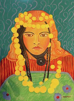 Painting - Zina by John Keaton