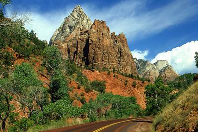 Zion National Park Utah - Landscape Photo Art Print by Art America Online Gallery