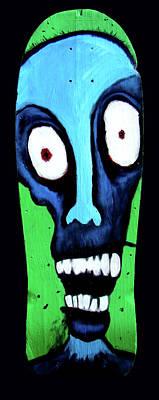 Brain Painting - Zombie Board by Nicholas De Sena