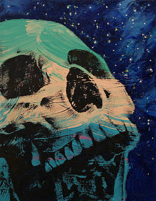Manga Painting - Zombie Stars by Michael Creese