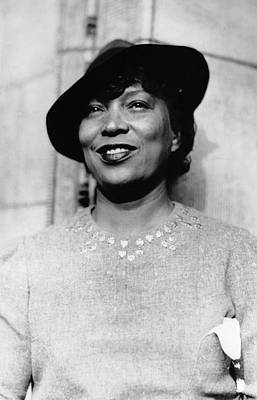 Photograph - Zora Neale Hurston 1981-1960 by Everett