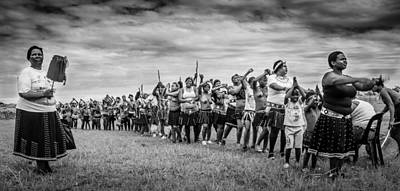 Southafrica Photograph - Zulu Dance by Giovanni Casini