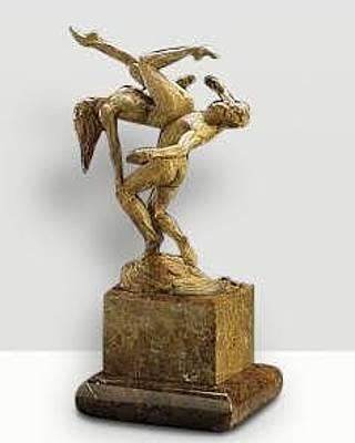 Richard Macdonald Sculpture - Zumanity Modern Dance II Ecstasy by Richard MacDonald