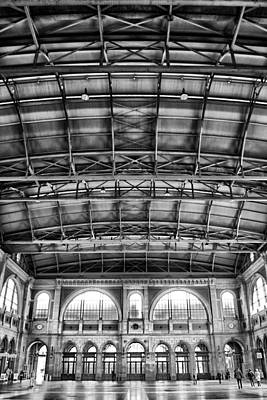 Train Depot Photograph - Zurich Train Station by Lauri Novak
