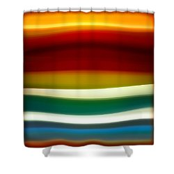 Fury Sea 3 Shower Curtain by Amy Vangsgard