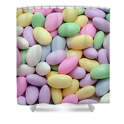 Jordan Almonds - Weddings - Candy Shop Shower Curtain by Andee Design
