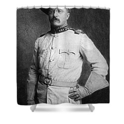 Theodore Roosevelt Shower Curtain by American School