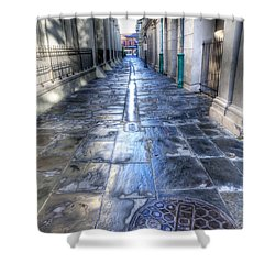 0270 French Quarter 2 - New Orleans Shower Curtain by Steve Sturgill