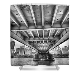 0308 Pittsburgh 5 Shower Curtain by Steve Sturgill