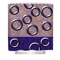 0235 Abstract Thought Shower Curtain by Chowdary V Arikatla