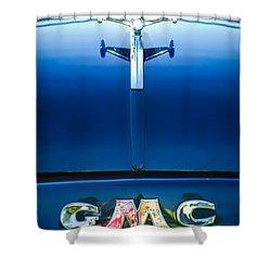 1954 Gmc Pickup Truck Hood Ornament - Emblem Shower Curtain by Jill ...