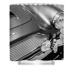 1960 Aston Martin Db4 Series II Grille Shower Curtain by Jill Reger