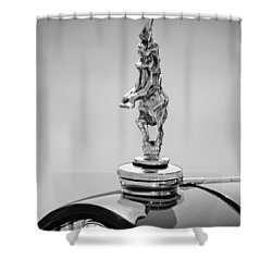 2012 Santarsiero Atlantis Concept Hood Ornament Shower Curtain by Jill Reger