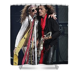 Aerosmith Shower Curtain by Concert Photos