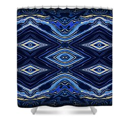 Art Series 6 Shower Curtain by J D Owen