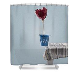 Balanced Shower Curtain by Joana Kruse
