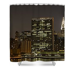 Beauty Of The Night Shower Curtain by Theodore Jones