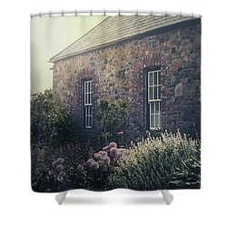 British Cottage Shower Curtain by Joana Kruse