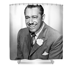 Cab Calloway (1907-1994) Shower Curtain by Granger