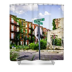 Cincinnati Glencoe-auburn Place Picture Shower Curtain by Paul Velgos