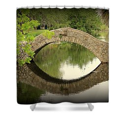 City Park Shower Curtain by Beth Vincent