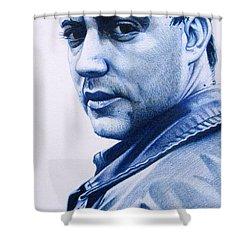 Dave Matthews  Shower Curtain by Joshua Morton