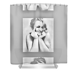 Emotions Shower Curtain by Kristie  Bonnewell
