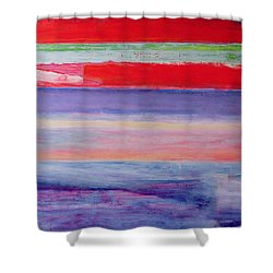 Everybody I Never Slept With  Shower Curtain by Lou Gibbs