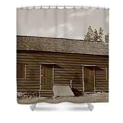 Farmhouse  Shower Curtain by Frank Romeo