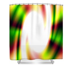 Flash Shower Curtain by Christopher Gaston